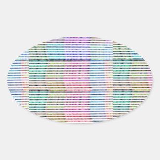 Handmade Fabric Design Pattern - Background Stickers