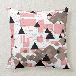 Handmade geometrical sample Forgottenplans Pillow