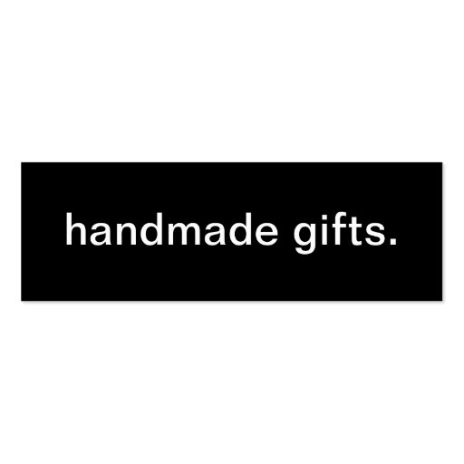 Handmade Gifts Business Card