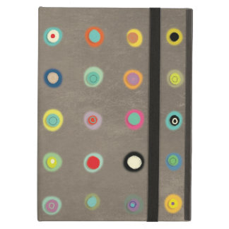 Handmade Happy Circles Case For iPad Air