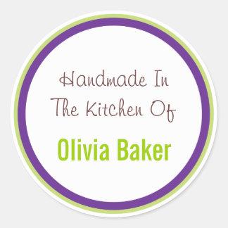 Handmade In The Kitchen Of Classic Round Sticker
