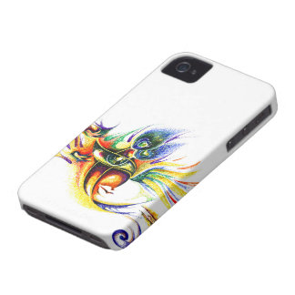 Handmade Ink Drawing of Lord Krishna Case-Mate iPhone 4 Case