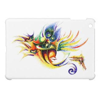 Handmade Ink Drawing of Lord Krishna iPad Mini Cover
