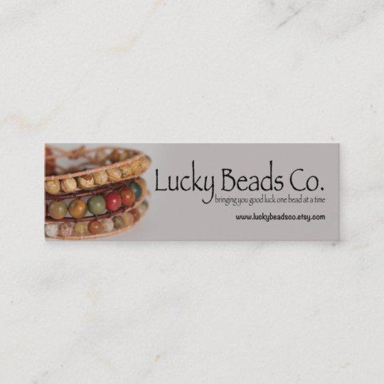 Handmade Jewelry Business Business Card Zazzle Com