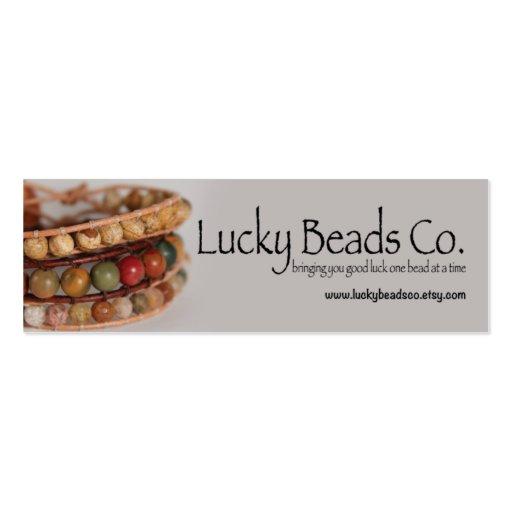 Handmade Jewelry Business Business Card Zazzle