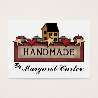 Handmade - Knitting Business Card