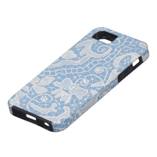 Handmade Lace Blue iPhone SE/5/5s Case