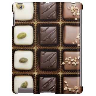 Handmade luxury chocolate in a box