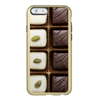 Handmade luxury chocolate in a box incipio feather shine iPhone 6 case