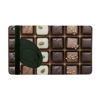 Handmade luxury chocolate in a box iPad covers