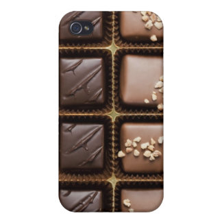 Handmade luxury chocolate in a box iPhone 4 cover
