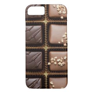 Handmade luxury chocolate in a box iPhone 8/7 case