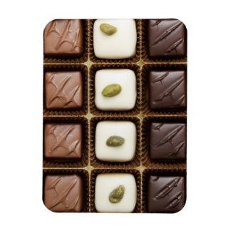 Handmade luxury chocolate in a box magnet