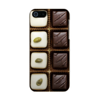 Handmade luxury chocolate in a box metallic phone case for iPhone SE/5/5s