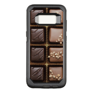 Handmade luxury chocolate in a box OtterBox commuter samsung galaxy s8 case