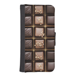 Handmade luxury chocolate in a box wallet phone case for iPhone SE/5/5s