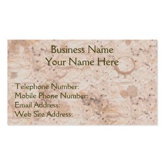 Handmade Paper Business Cards 332 Handmade Paper Business
