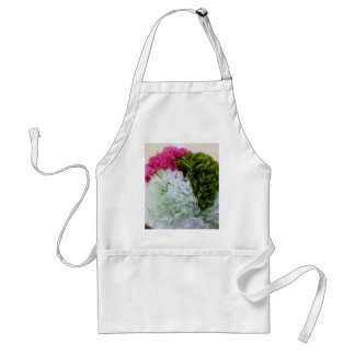 handmade paper flower adult apron