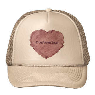 Handmade Paper Heart 009 Trucker Hat