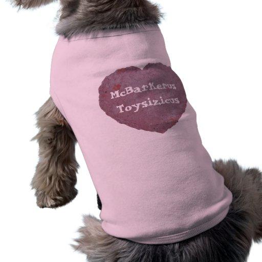 Handmade Paper Heart 010 Pet Shirt