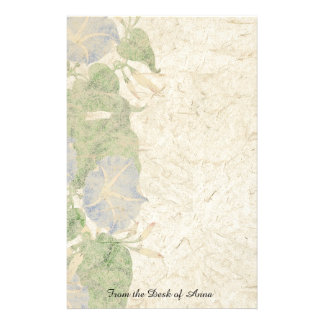 Handmade Paper Morning Glory Flowers Floral
