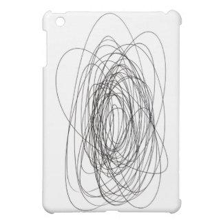 handmade pen scrawl scribble blot smudge daub smea case for the iPad mini