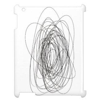 handmade pen scrawl scribble blot smudge daub smea cover for the iPad 2 3 4