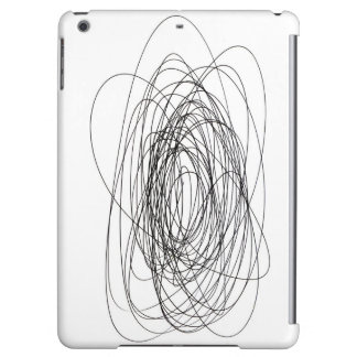 handmade pen scrawl scribble blot smudge daub smea iPad air cases