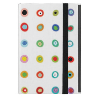 Handmade Polka dots iPad Mini Cover
