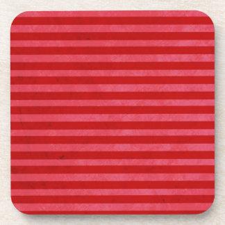 Handmade Red pink Cork Coaste Coasters