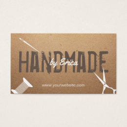 Thread business cards templates zazzle handmade sewing crafts vintage cardboard business card reheart Image collections
