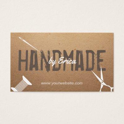 Handmade sewing diy craft rustic lace burlap business card handmade sewing diy craft rustic lace burlap business card zazzle colourmoves