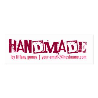 Handmade Tag Mini Business Card