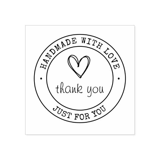 Handmade With Love | Product Stamp