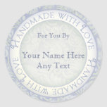 Handmade with Love Stickers for Crafters, Artists