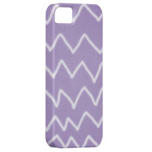 Handmade ZigZag Purple Case iPhone 5 Covers