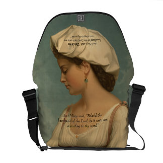 HANDMAID OF THE LORD MESSENGER BAGS