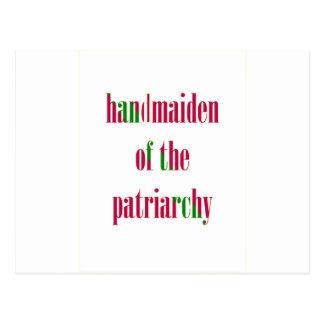 Handmaiden del patriarcado postales