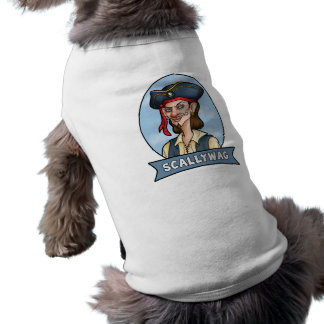 Handome Pirate is a Scallywag Pet Clothes