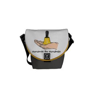 Handouts For Handbells Messenger Bag