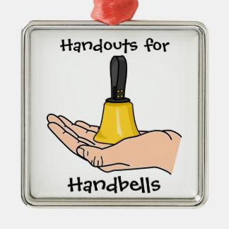 Handouts For Handbells Metal Ornament