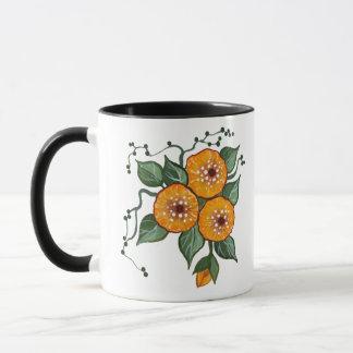 Handpainted Blossoms Mug