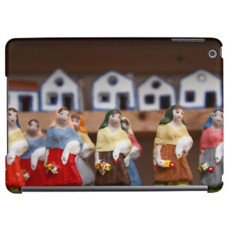 Handpainted figurines iPad air covers