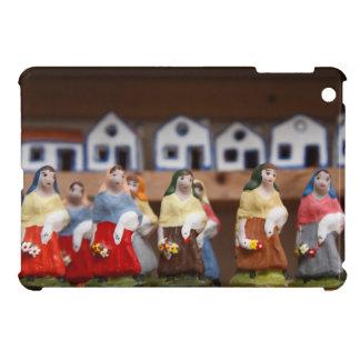 Handpainted figurines iPad mini covers