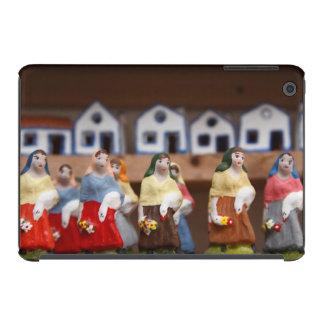 Handpainted figurines iPad mini retina cover
