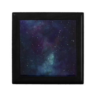 Handpainted Galaxy Keepsake Boxes