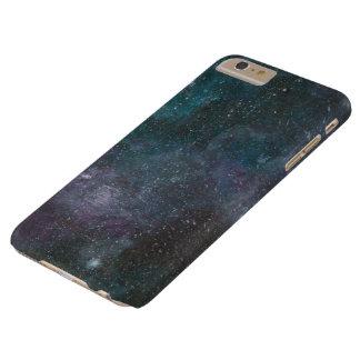 Handpainted galaxy print phone case
