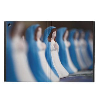 Handpainted Virgin Mary figurines Case For iPad Air