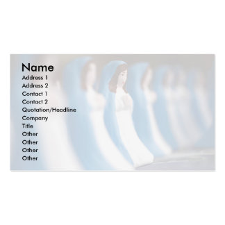 Handpainted Virgin Mary figurines Double-Sided Standard Business Cards (Pack Of 100)