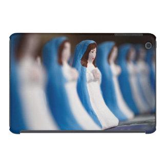 Handpainted Virgin Mary figurines iPad Mini Retina Cases